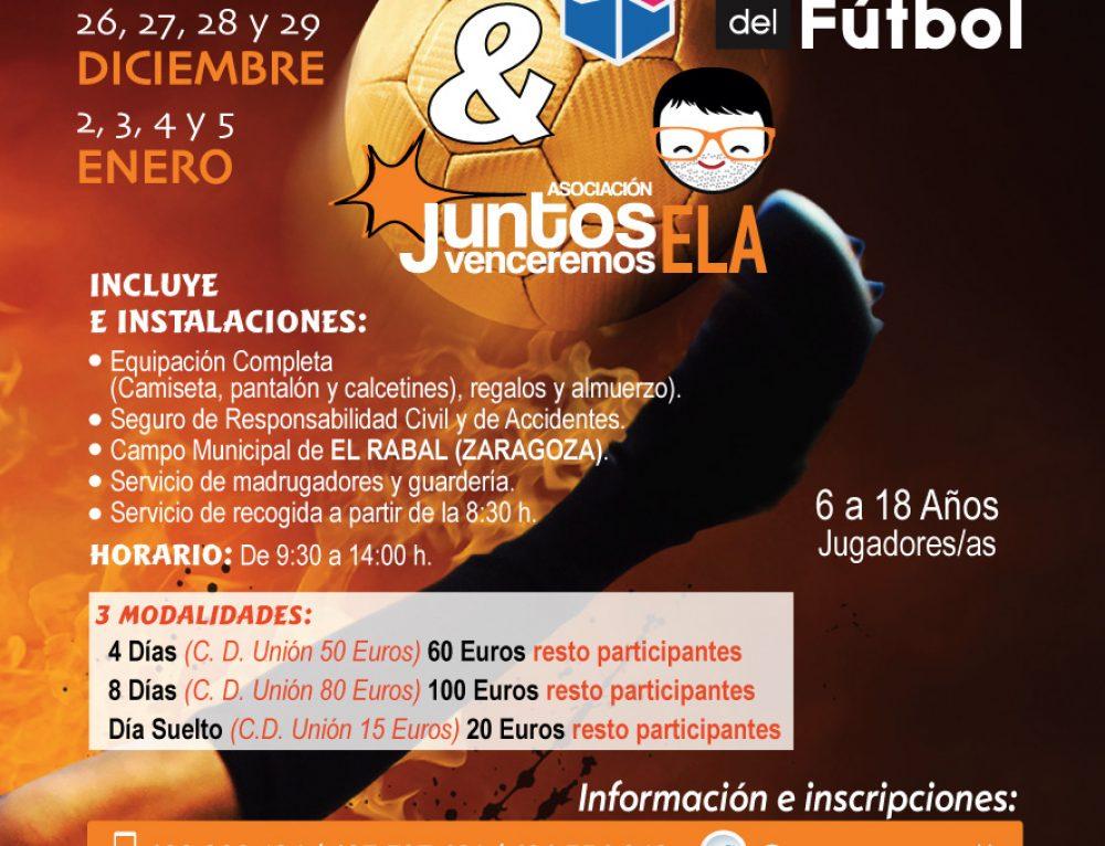 Campus Soccer11 Promesas del Fútbol Navidad Zaragoza 2017
